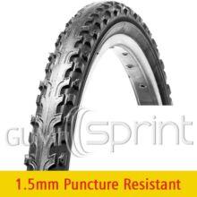 28-1,75 47-622 VRB112 Puncture Resistant Vee Rubber kerékpár gumi