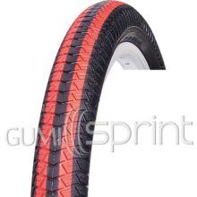 20-2,25 57-406 VRB186 fekete/piros csíkos Vee Rubber kerékpár gumi