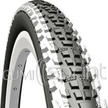 26x2,10 54-559 V85 Ocelot fehér csíkos Mitas kerékpár gumi