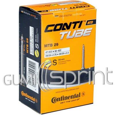 18/25-559/571 S42 dobozos Continental kerékpár tömlő
