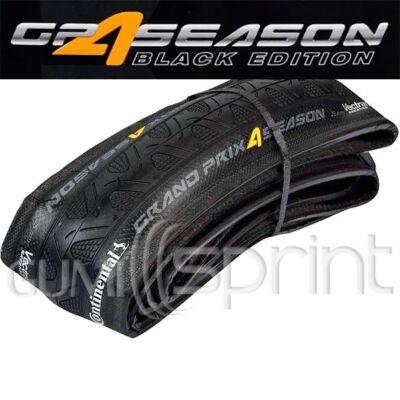 23-622 700x23C Grand Prix 4-Season Black Edition hajtogatható Continental kerékpár gumi