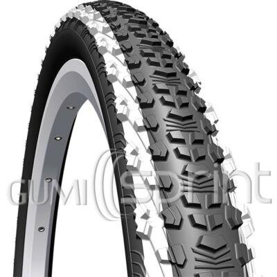 24-1,90 V75 50-507 Scylla fehér csíkos Mitas kerékpár gumi